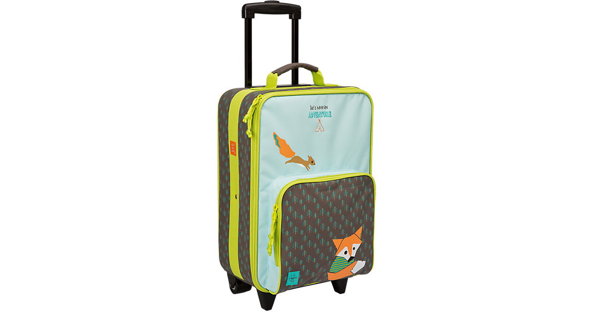 Trolley 4kids, Little Tree, Fox mehrfarbig   Taschen > Koffer & Trolleys > Trolleys   Mehrfarbig   Pvc - Polyester   Lässig