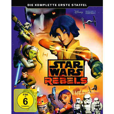 BLU-RAY Star Wars Rebels 01