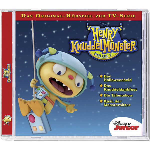 CD Disney Henry Knuddelmonster 07