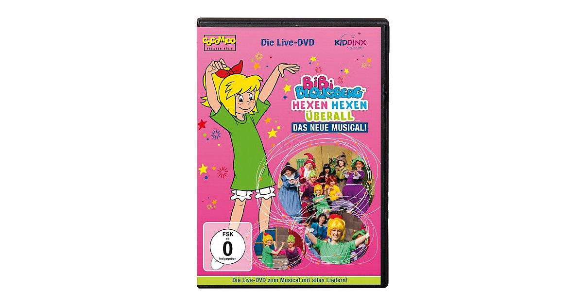 DVD Bibi Blocksberg - Hexen hexen überall - Mus...