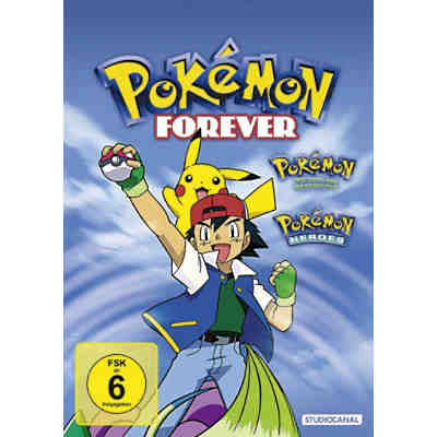 DVD Pokemon Forever