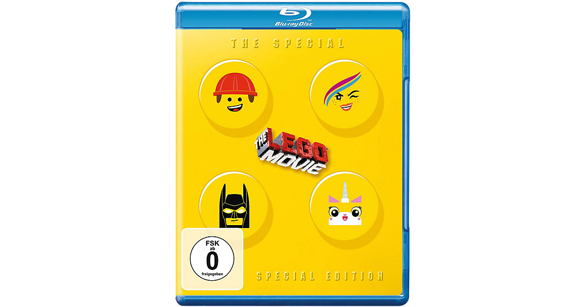 BLU-RAY LEGO The Movie (Special Edition)