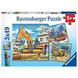 Набор пазлов Ravensburger Большие строительные машины, 147 элементов