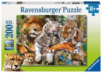 Geduldspiel Jaguar Nachwuchs Puzzle 500 Teile Spiel Deutsch 2014