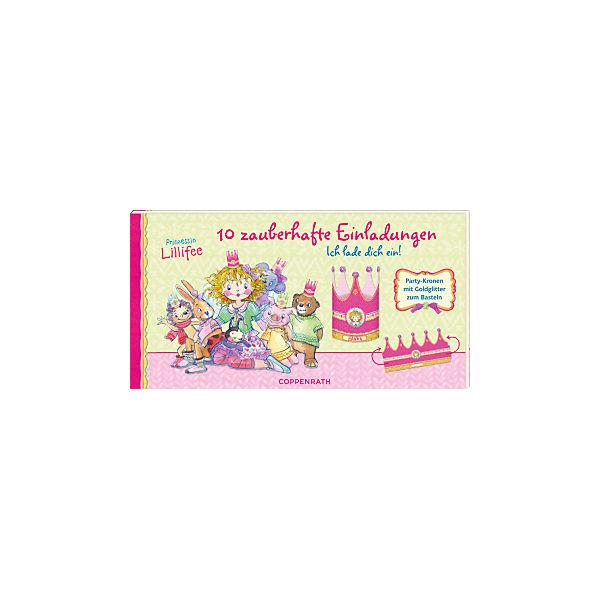 Einladungskarten   Ich Lade Dich Ein! 10 Zauberhafte Einladungskarten    Prinzessin Lillifee