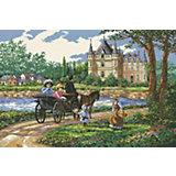 Набор для вышивания Белоснежка «Усадьба», 40х55 см