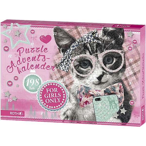 Puzzle-Adventskalender For Girls
