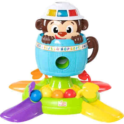 Hide 'n Spin Monkey™ Activity Toy Ballspaß Affe