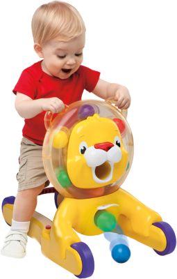 Bright Starts 3-in-1 Löwe, Spielzeug zum Schieben