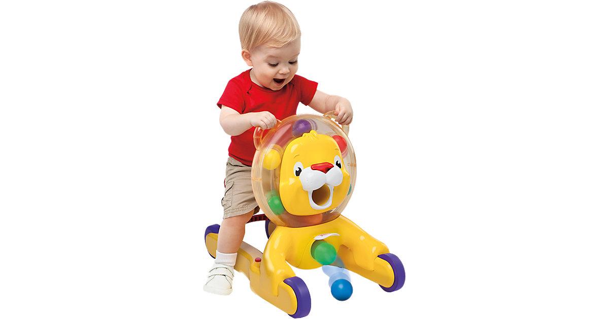 Kids II · Bright Starts 3-in-1 Löwe, Spielzeug zum Schieben
