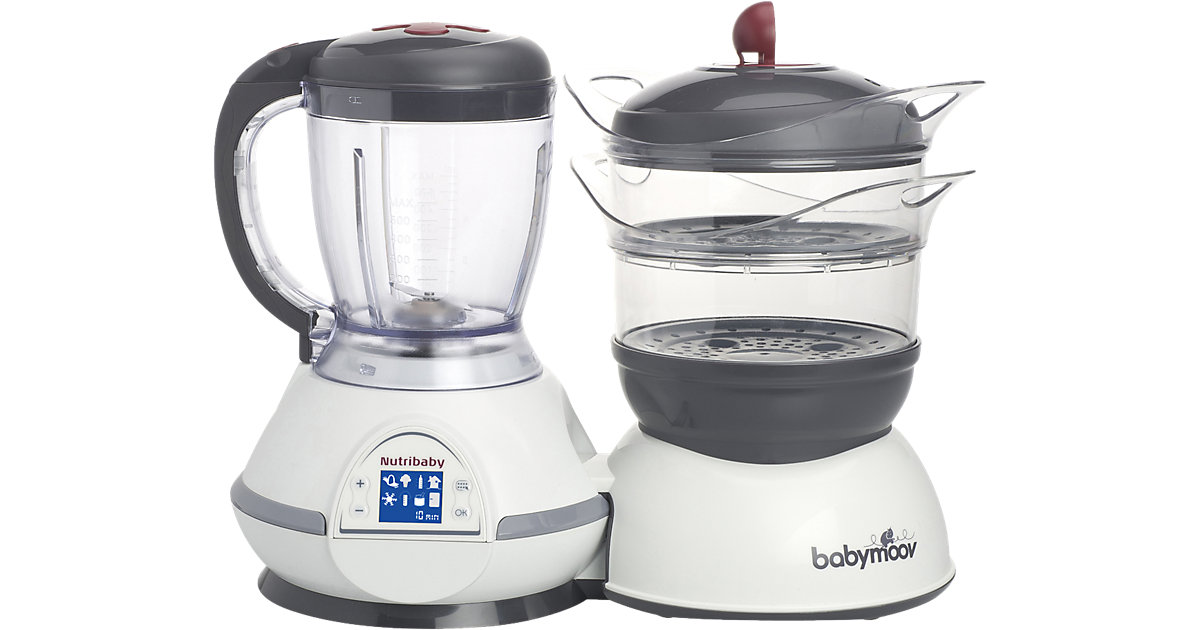 babymoov · Multifunktionsgerät Nutribaby 5 in 1, Cherry
