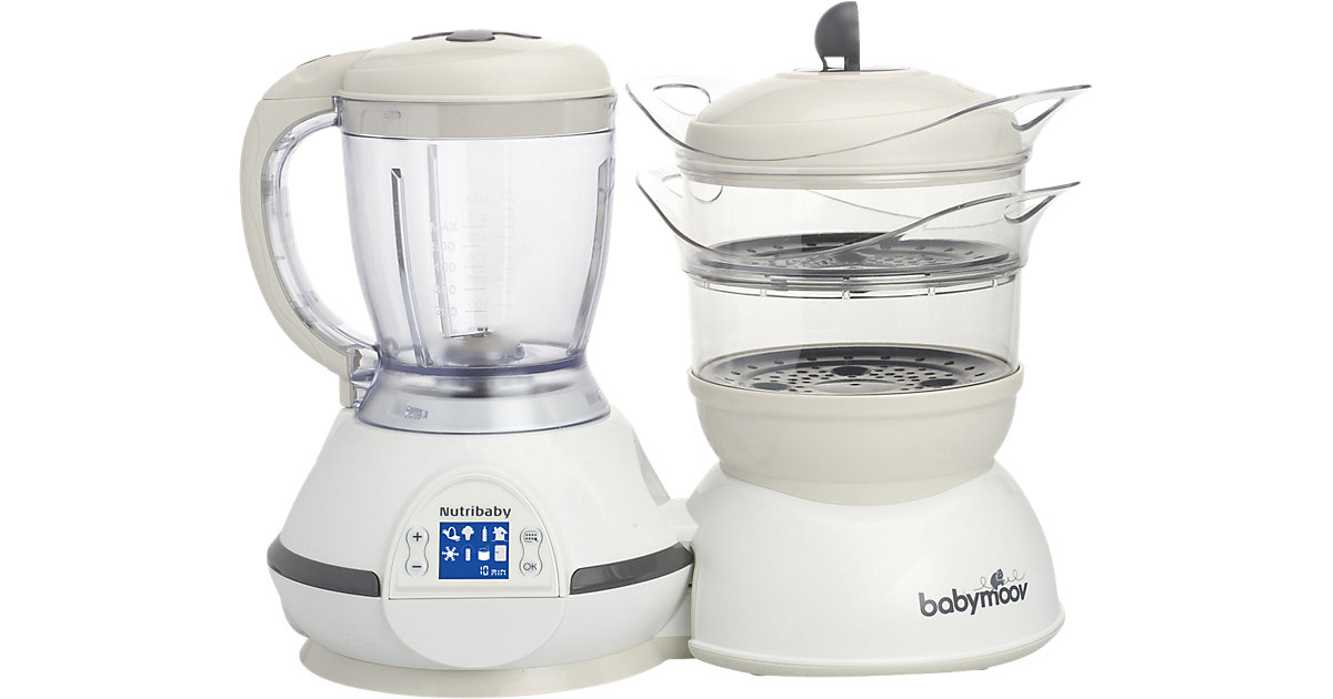 babymoov · Multifunktionsgerät Nutribaby 5 in 1, Cream