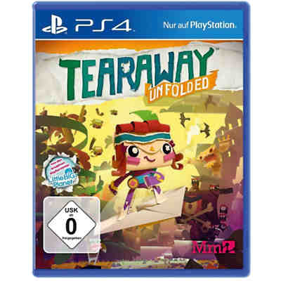 PS4 Tearaway: Unfolded