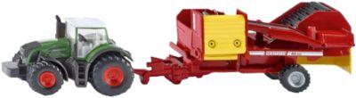 Landwirtschaft SIKU Traktor mit Kartoffelroder
