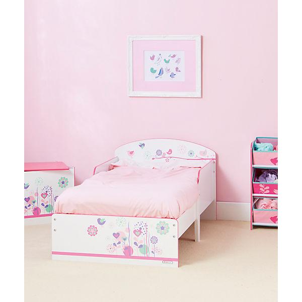 Kinderbett Blumen und Schmetterlinge WORLDS APART