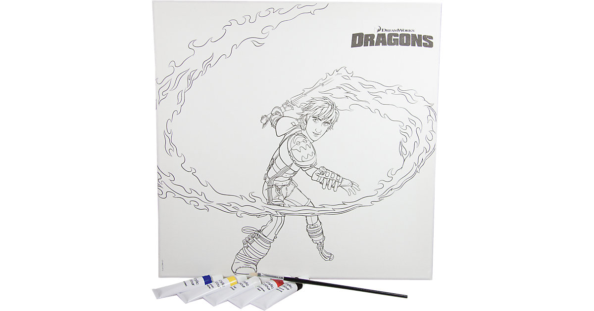 Malset Dragons 2, 7-tlg.