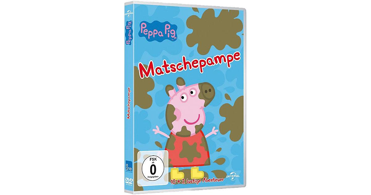 DVD Peppa Pig Vol. 4 - Matschepampe Hörbuch