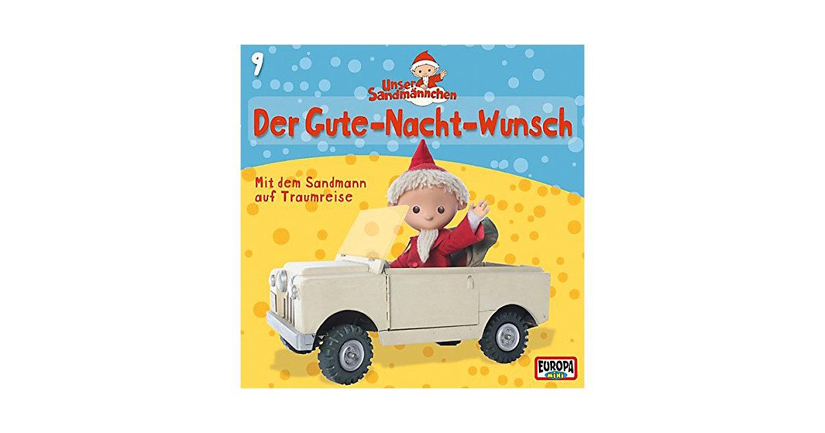 CD Unser Sandmännchen 9 - Der Gute-Nacht-Wunsch Hörbuch