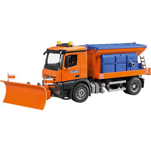 Bruder BRUDER 3685 MB Arocs Winterdienst 60cm mit Räumschild 1:16 Sale Angebote Drieschnitz-Kahsel