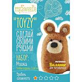 """Набор для валяния Toyzy """"Мишка"""""""