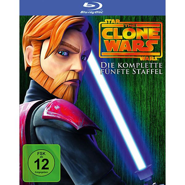 BLU-RAY Star Wars: The Clone Wars - Season 5