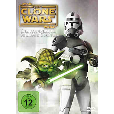 DVD Star Wars: The Clone Wars - Die komplette 6. Staffel (3 DVDs)