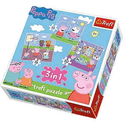 d75c415b91 3in1 Puzzle 20/36/50 Teile - Peppa Pig ...