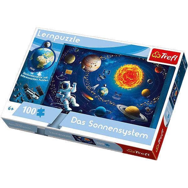 Lernpuzzle 100 Teile - Das Sonnensystem, Trefl