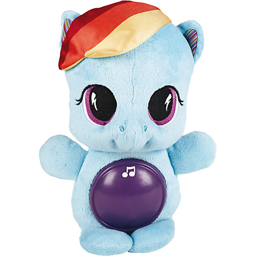 """Мягкая игрушка пони для сна """"My Little Pony"""", Rainbow Dash от Hasbro"""