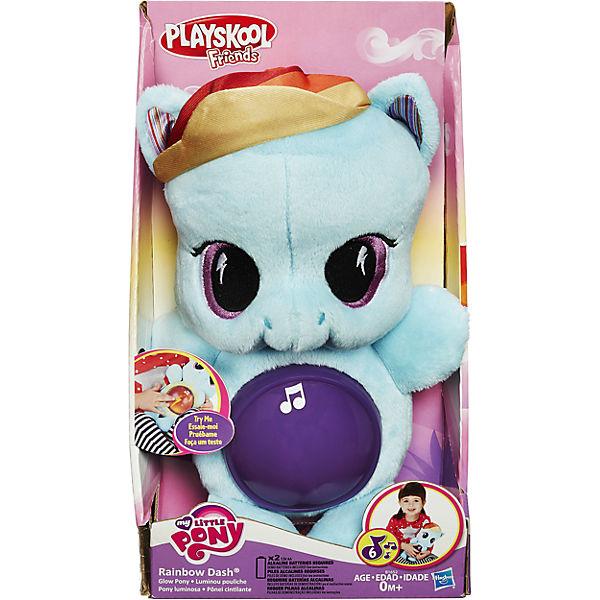 """Мягкая игрушка пони для сна """"My LittlePony"""", Rainbow Dash"""