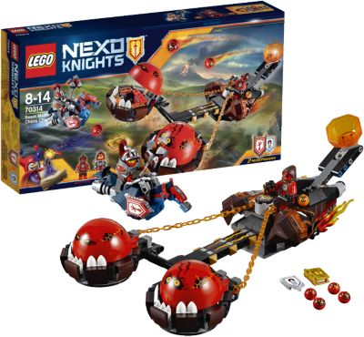 LEGO 70314 Nexo Knights Chaos-Kutsche des Monstermeisters