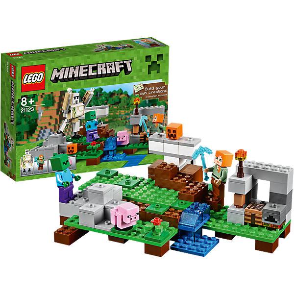LEGO Minecraft Der Eisengolem Minecraft MyToys - Minecraft spielen lego