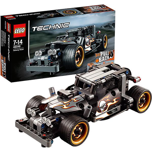 lego 42046 technic fluchtfahrzeug lego mytoys. Black Bedroom Furniture Sets. Home Design Ideas