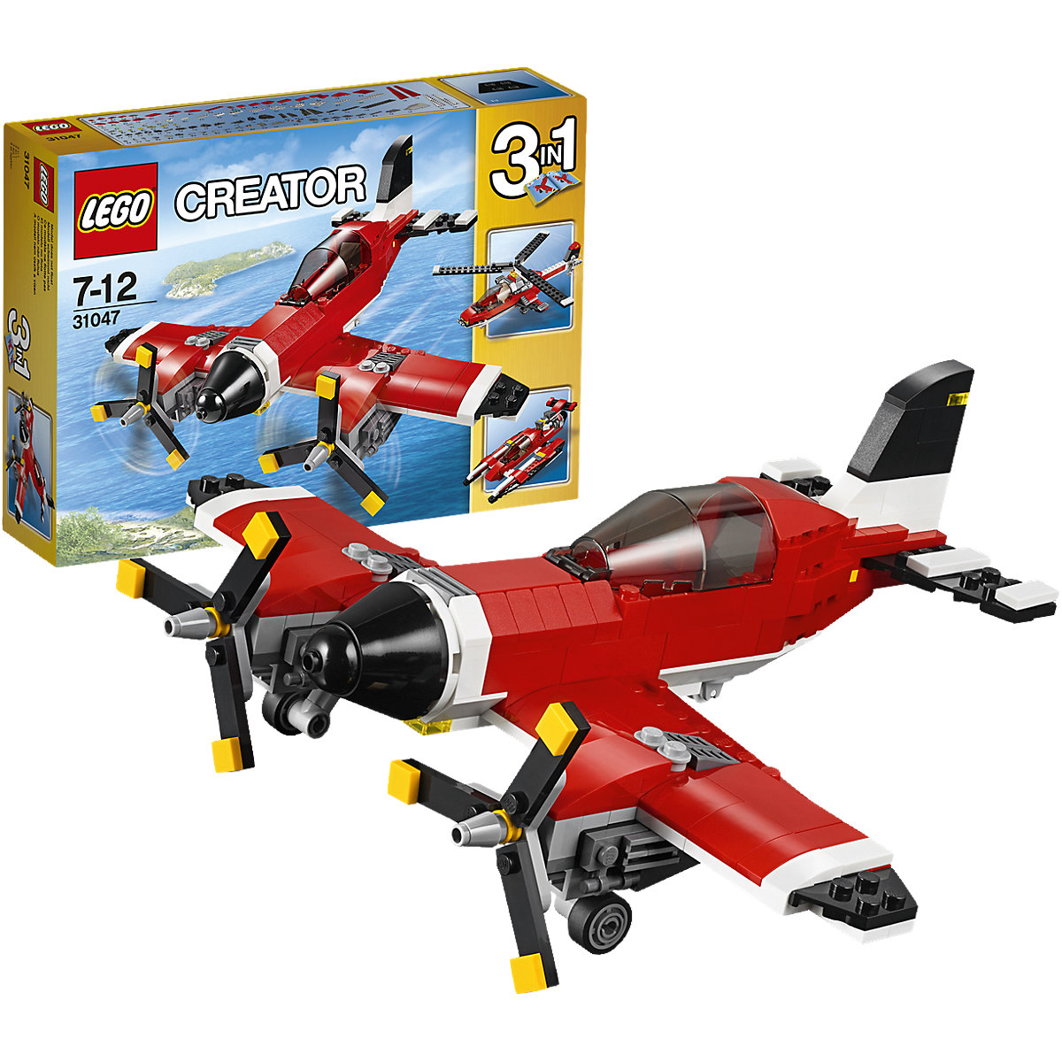 lego 31047 creator propeller flugzeug lego mytoys. Black Bedroom Furniture Sets. Home Design Ideas