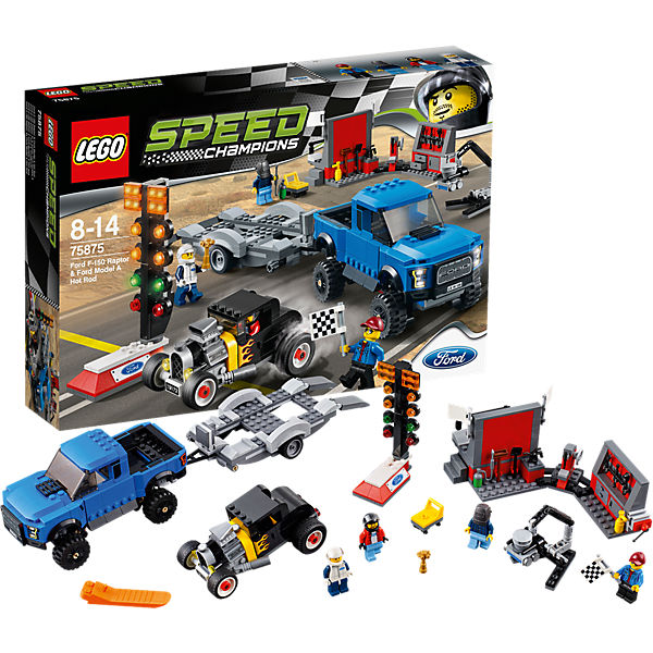 LEGO 75875 Speed Ford F-150 Raptor & Ford Model A Hot Rod