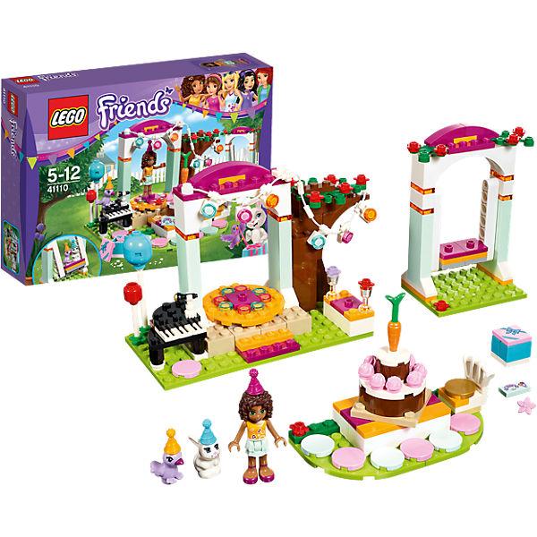 LEGO 41110 Friends Geburtstagsparty, LEGO   MyToys