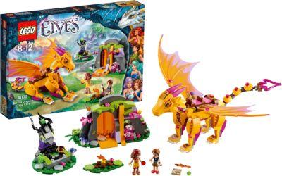 LEGO 41175 Elves Lavahöhle des Feuerdrachens