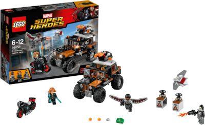 LEGO 76050 Super Heroes Captain America: Der riskante Raub