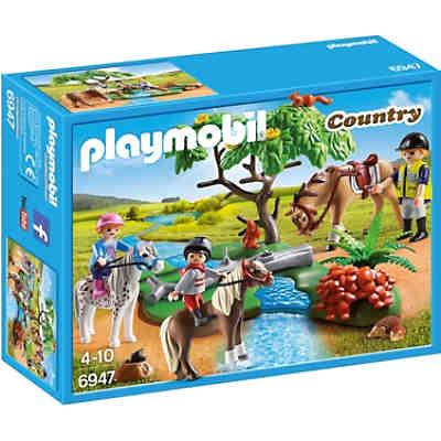 Playmobil reiterhof g nstige angebote aus der pferdewelt mytoys - Pferde playmobil ...