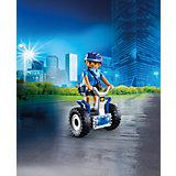 """Конструктор Playmobil """"Полиция"""" Полицейский на балансирующей гоночной машине"""