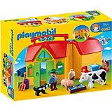 Конструктор Playmobil Ферма - возьми с собой, 15 деталей
