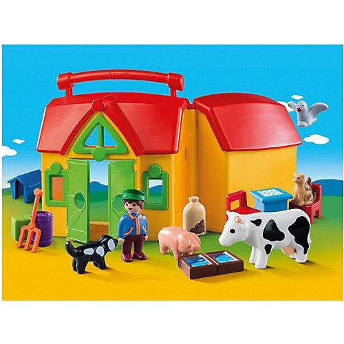Конструктор Playmobil Ферма - возьми с собой, 15 деталей от PLAYMOBIL®