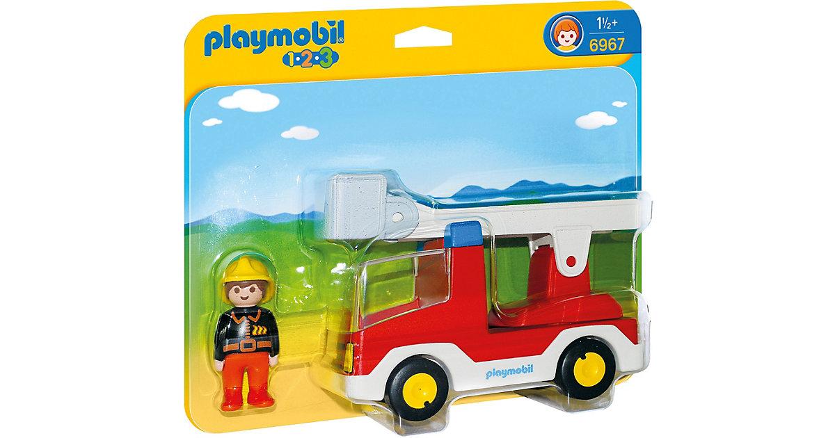 Image of PLAYMOBIL - 6967 Feuerwehrleiterfahrzeug