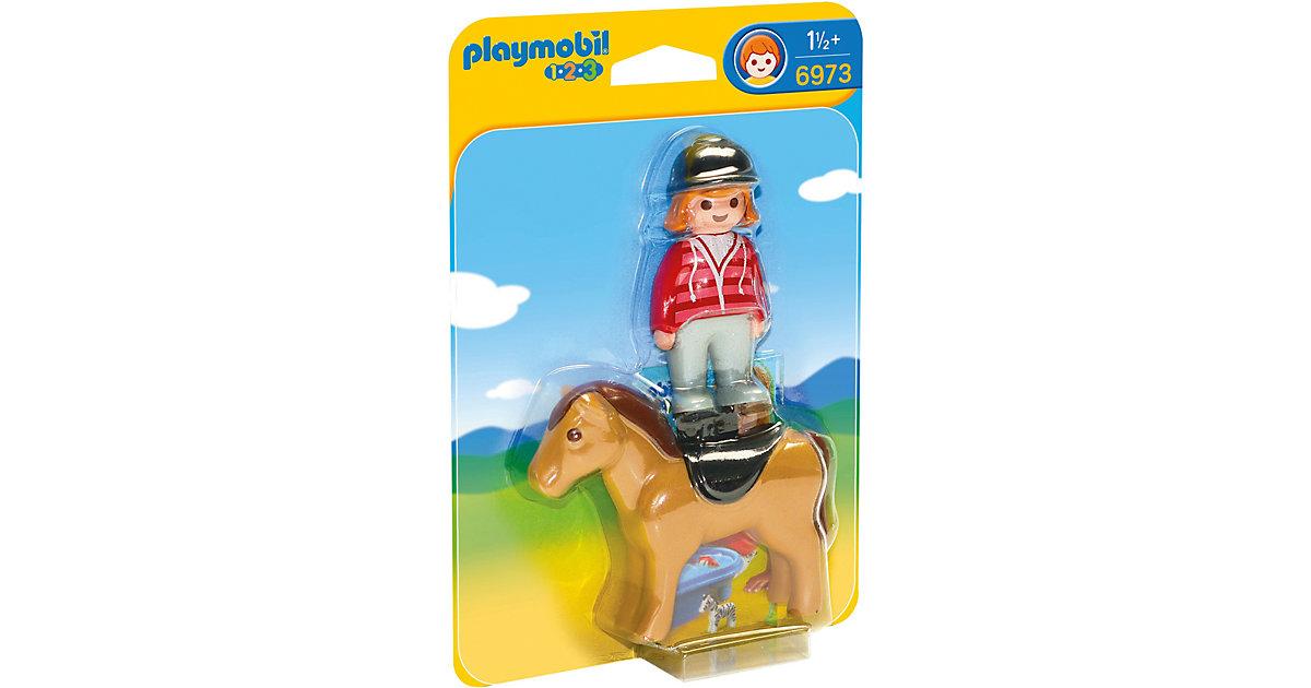 PLAYMOBIL® 6973 1-2-3: Reiterin mit Pferd