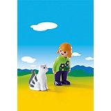 Конструктор Playmobil Женщина с кошкой