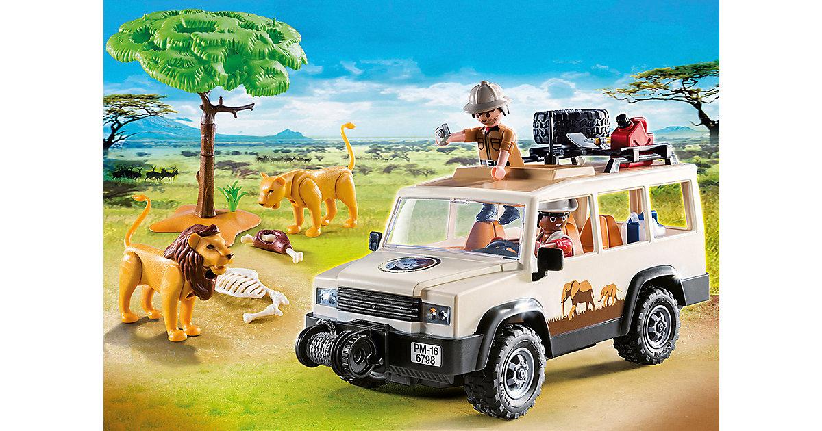6798 Safari-Geländewagen mit Seilwinde (Aktionsartikel)