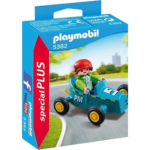 """Конструктор Playmobil """"Экстра-набор"""" Мальчик с картом от PLAYMOBIL®"""