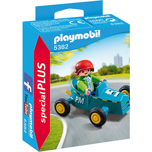 playmobil 5382 special plus junge mit kart special specialpacks sammeln mytoys. Black Bedroom Furniture Sets. Home Design Ideas