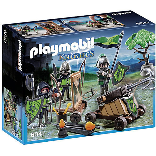 PLAYMOBIL 6041 Рыцари: Катапульта Рыцарей Волка от PLAYMOBIL®