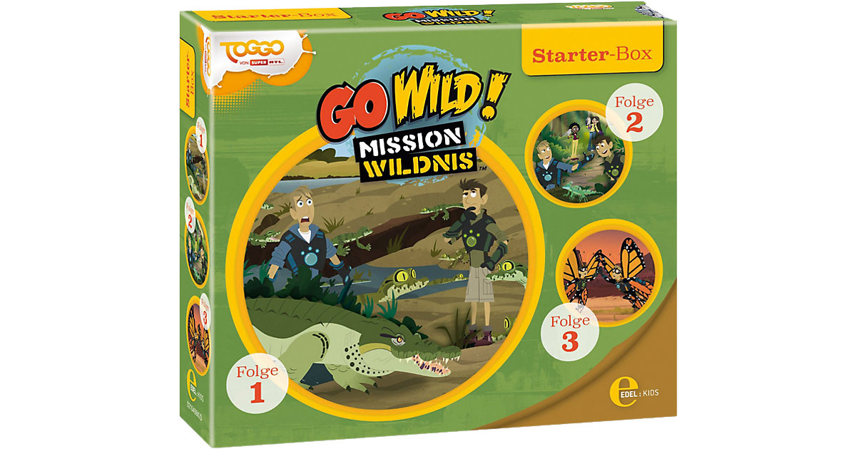 CD Go Wild!-Mission Wildnis - Starter-Box